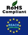 RoHS & REACH logos