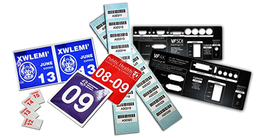 Industrial Labels, Barcode Asset Labels, Equipment Label