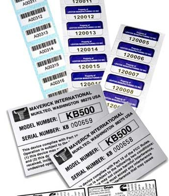 Custom Adhesive Labels