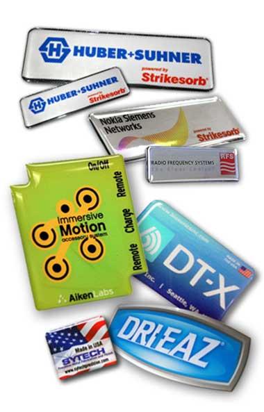 Custom Dome Labels