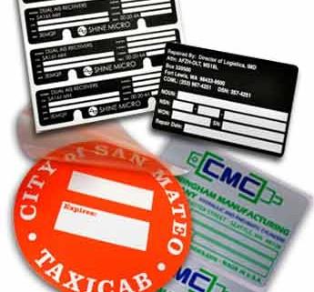 agency & fcc labels, UL label, UL 969 label