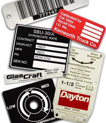 Metallic UL Label