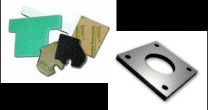 custom adhesive label materials